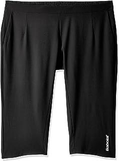 Babolat Performance Womens Tennis Training Match 3/4 Pants Bottoms - Black