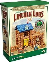 Lincoln Log Horseshoe Hill Station