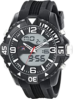 U.S. Polo Assn. Sport Men's US9386 Watch with Black Band