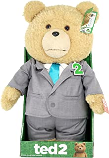 Ted 2 AnimaTeddy Bear Explicit Doll in Suit, 16