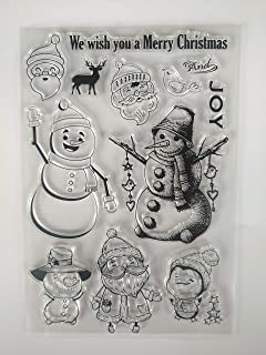 Best snowman stamps and dies Reviews