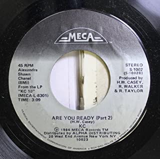 KC 45 RPM Are You Ready (Part 2) / Are You Ready