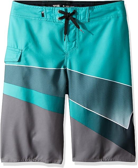 Quiksilver Boys Big Slash Logo Youth Boardshort Swim Trunk