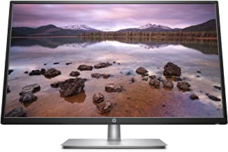 HP 2Ud96Aa#Aba FHD IPS Monitor with Tilt Adjustment and Anti-Glare Panel- 32-Inch, Black/Silver