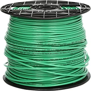 Southwire 22968201 Stranded THHN 12 Gauge Building Wire, 500-Feet, Green