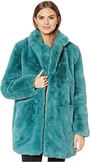 Sophie 2 Faux Fur Coat Sapphire Blue MD
