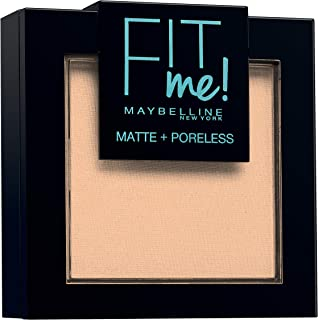 comprar comparacion Maybelline New York Fit Me - Polvos Compactos Matificantes y Sin Brillos, Tono 115 Ivory