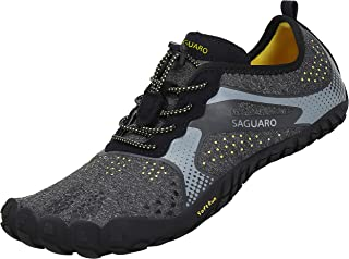 SAGUARO Chaussures de Trail Running Homme Femme Chaussures Minimalistes Chaussures de Sport Outdoor & Indoor Gym Fitness R...