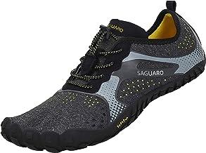 SAGUARO Barefoot Zapatillas de Trail Running Minimalistas Zapatillas de Deporte Exterior Interior Zapatos de Deportes Acuaticos,Unisex-Adulto