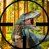 Real Jurassic Dino hunter FPS Shooting 2019 : Volcano jungle dinosaur gun shooting survival games battle predator  glacier raptor blackhole city raft battle shelter zone