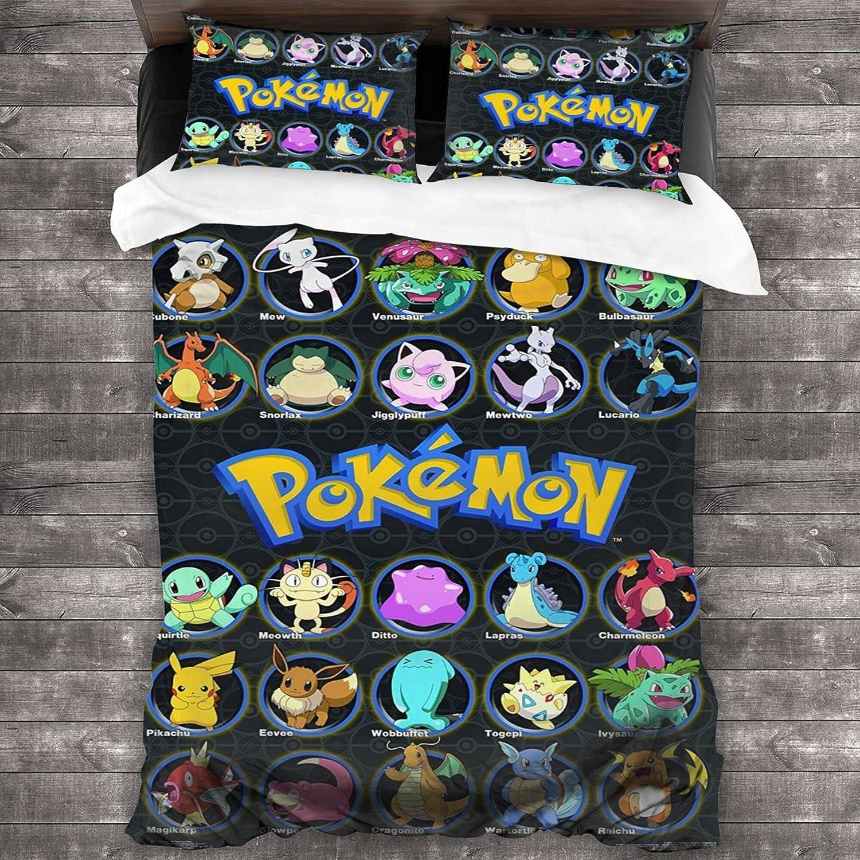 Cartoon Children's Bedding Set Over item handling ☆ Max 76% OFF Soft Microfiber Quilt Comforter C