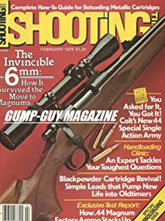 Shooting Times February 1979 Magazine SPECIAL HANDLOADING ISSUE, HANDLOADING CLINIC: AN EXPERT TACKLES YOUR TOUGHEST QUESTIONS