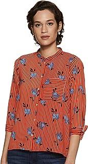 ABOF Women's Floral Regular fit Casual Shirt