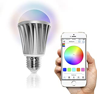 Flux Bluetooth LED Smart Bulb - Wireless Multi Color Changing Light For Kitchen, Bedroom-