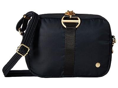 Pacsafe Citysafe CX Anti-Theft Square Crossbody Bag (Black) Cross Body Handbags