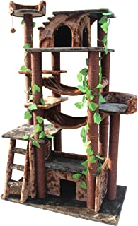Kitty Mansions 78 in. Amazon Cat Tree