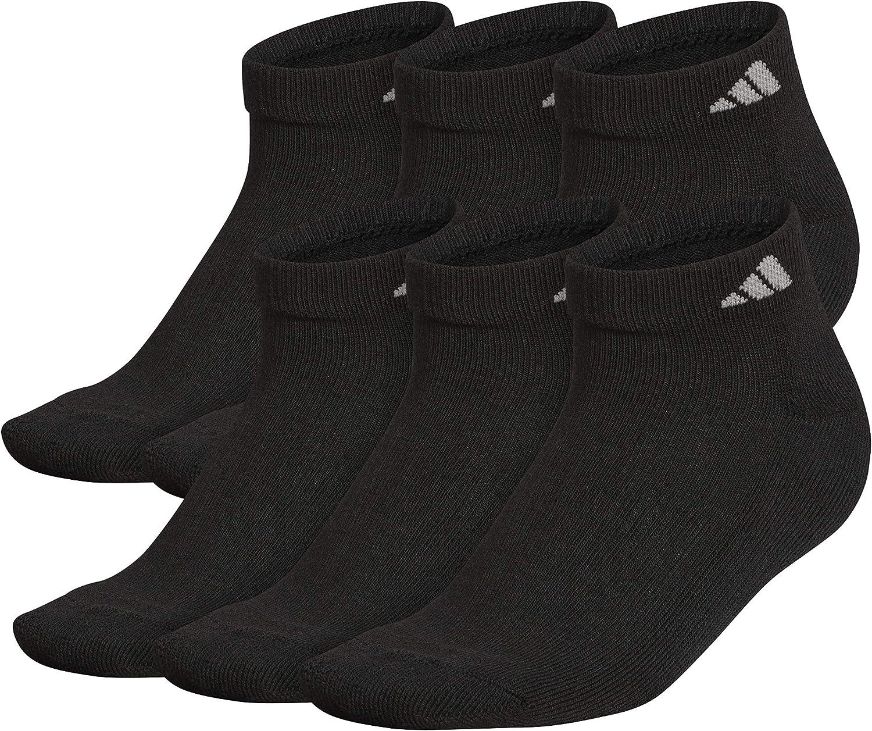 adidas Mens Superlite Low Cut Socks (6-pair)