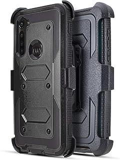 Customerfirst Motorola Moto G Stylus XT2043, Moto G Power XT2041 (2020 Version) with Built-in Screen Protector Heavy Duty ...