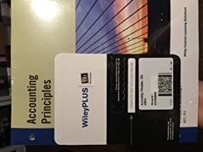 Accounting Principles, 12th Edition, Volume 1 with Wiley Plus/Custom Blackboard.