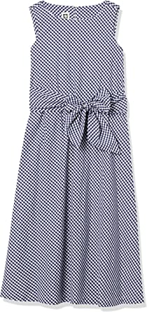 ANNE KLEIN Women's MIDI Dress with Attached SASH