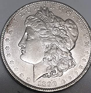 1890 P Silver Morgan Beautiful Dollar XF Extremely Fine Details Condition