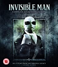 Invisible Man: Complete Legacy Collection 2019  Region Free