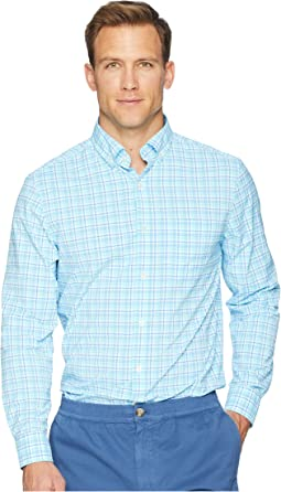 Tipsy Bar Plaid Performance Murray Shirt