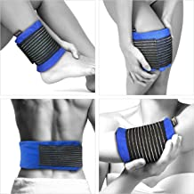 GelpacksDirect Gel Ice Pack for Sport Injury, Reusable Hot & Cold Compress Wrap, All Body Parts - Flexible from Freezer - First Aid Heat Pad for Knee, Ankle, Hip, Back Pain Relief - Faster Recovery
