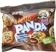 Meiji Hello Panda Chocolate Creme Filled Cookies Jumbo Box - 32 Count (Pack of 1)