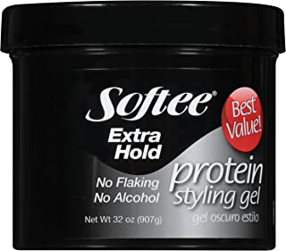 Softee Protein Extra Hold Styling Gel, 32 Oz