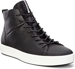 ecco men's soft 8 high top fashion sneaker