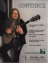 Alvarez Yairi Guitars - Warren Haynes of Gov't Mule - 1995 Print Advertisement