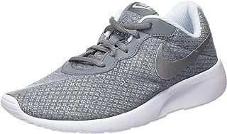 Nike Kids Tanjun (GS) Running Shoe Cool Grey/Metallic Silver