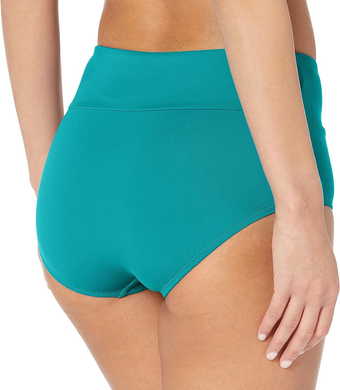 Maxine Of Hollywood Women's Wide Band Full Bikini Bottom Swimsuit