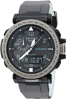 Men's 'PRO TREK' Solar Powered Silicone Watch,...