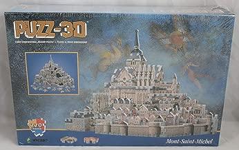 mont saint michel 3d puzzle