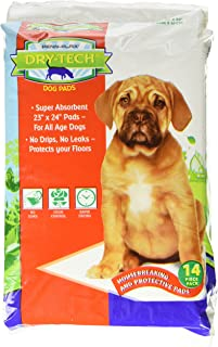 Penn-Plax DTP2 Dry-Tech Doggie Pads with Natural Attractant, 23 by 24-Inch