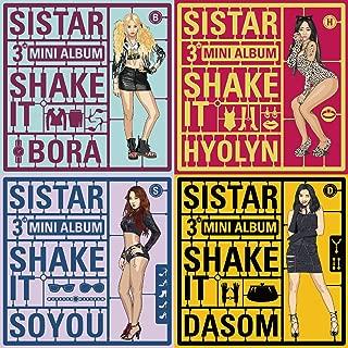 SISTAR - Shake It (3rd Mini Album) Random Cover [+Sistar Wallet Photo card 2pcs][+Sistar postcard(10x15cm)]
