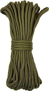 normani Stabiel polypropyleen touw, belastbaar tot 250 kg, universeel inzetbaar, kleur olijf, afmeting 5 mm/15 m