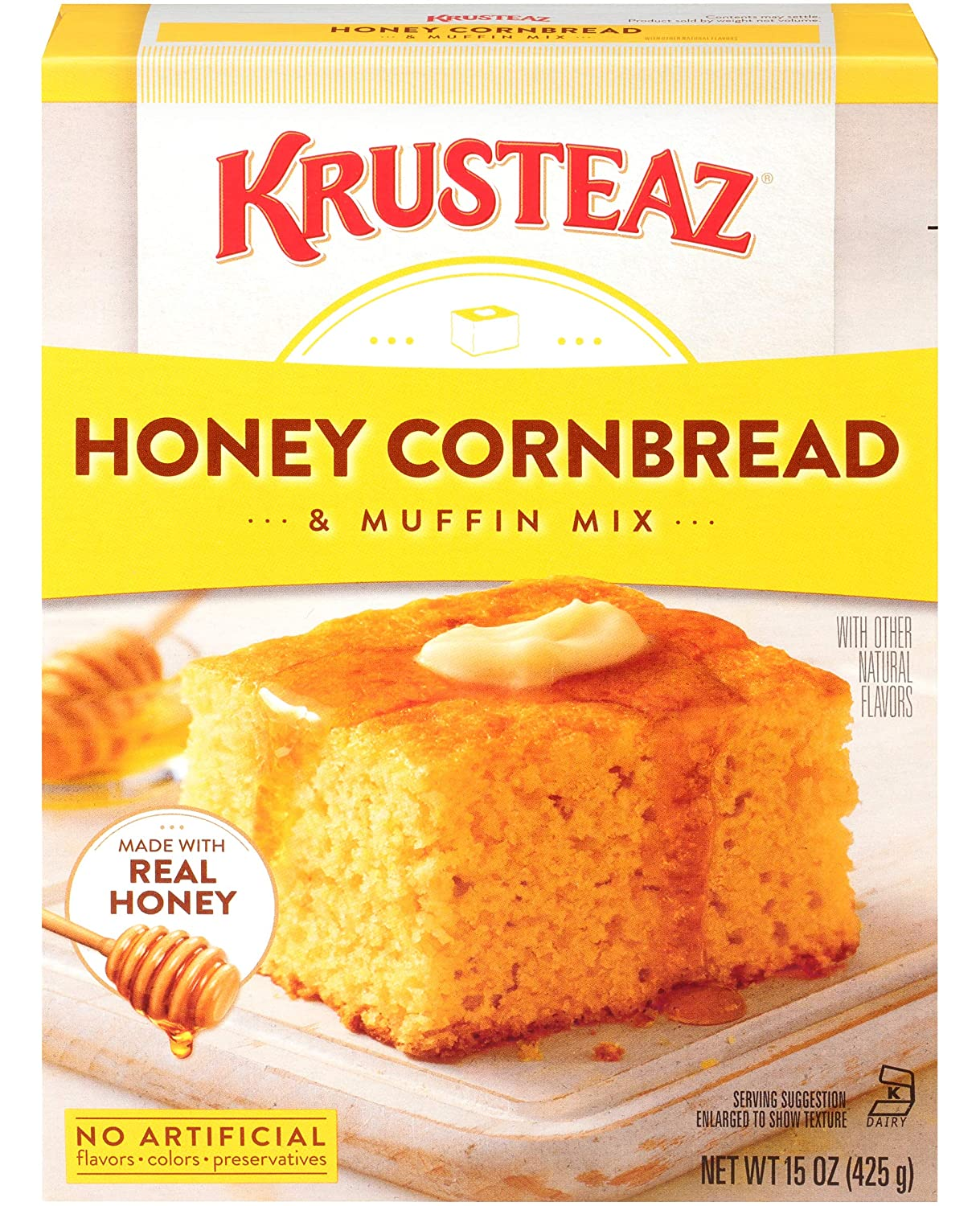 Krusteaz Honey Cornbread and Muffin High material No Artificial - Genuine Colors Mix