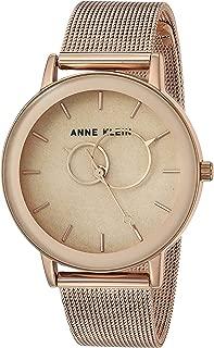Women's Rose Gold-Tone Mesh Bracelet Watch, AK/3450