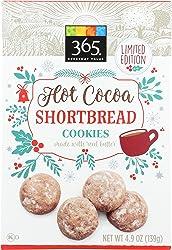 365 Everyday Value, Hot Cocoa Shortbread Cookies, 4.9 oz