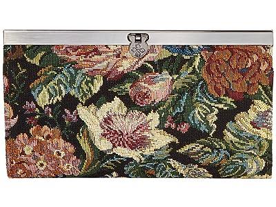 Patricia Nash Cauchy (Woven Floral) Clutch Handbags