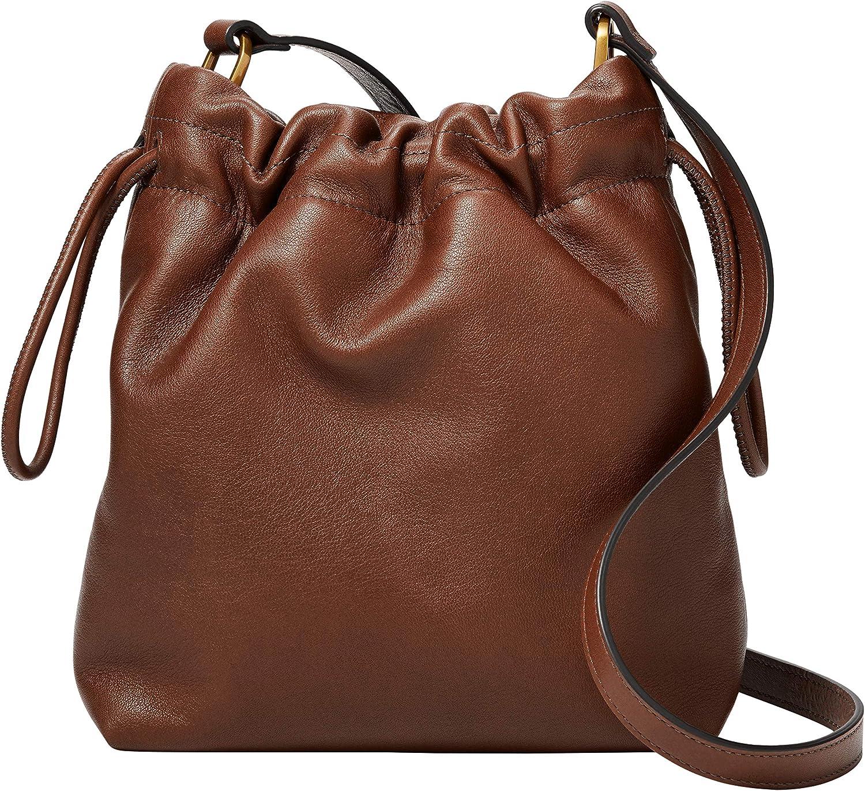 Fossil Women's Gigi Leather Crossbody Purse Handbag