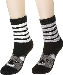 Women's Soft Anti-Skid Micro-Plush Winter Crew Socks