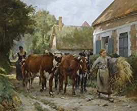 Julien Dupre The Return to The Village Private Collection 30