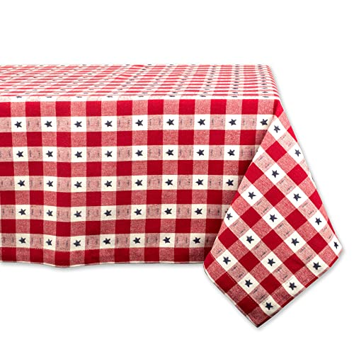 104080ea57a DII Rectangular Cotton Tablecloth for Independence Day