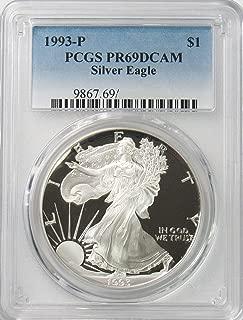pcgs pr69dcam eagle