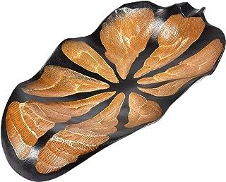 Unique Leaf Shaped Mango Wood Bowl or Tray