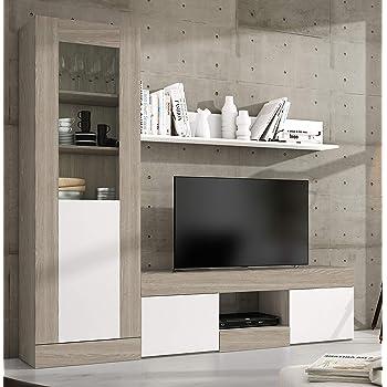 Miroytengo Pack Muebles modulares Karla salón Comedor Moderno ...